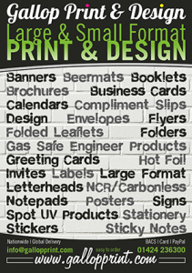 Gallop Print and Design